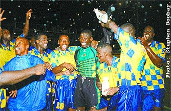 Defence Force wins First Citizens Cup.