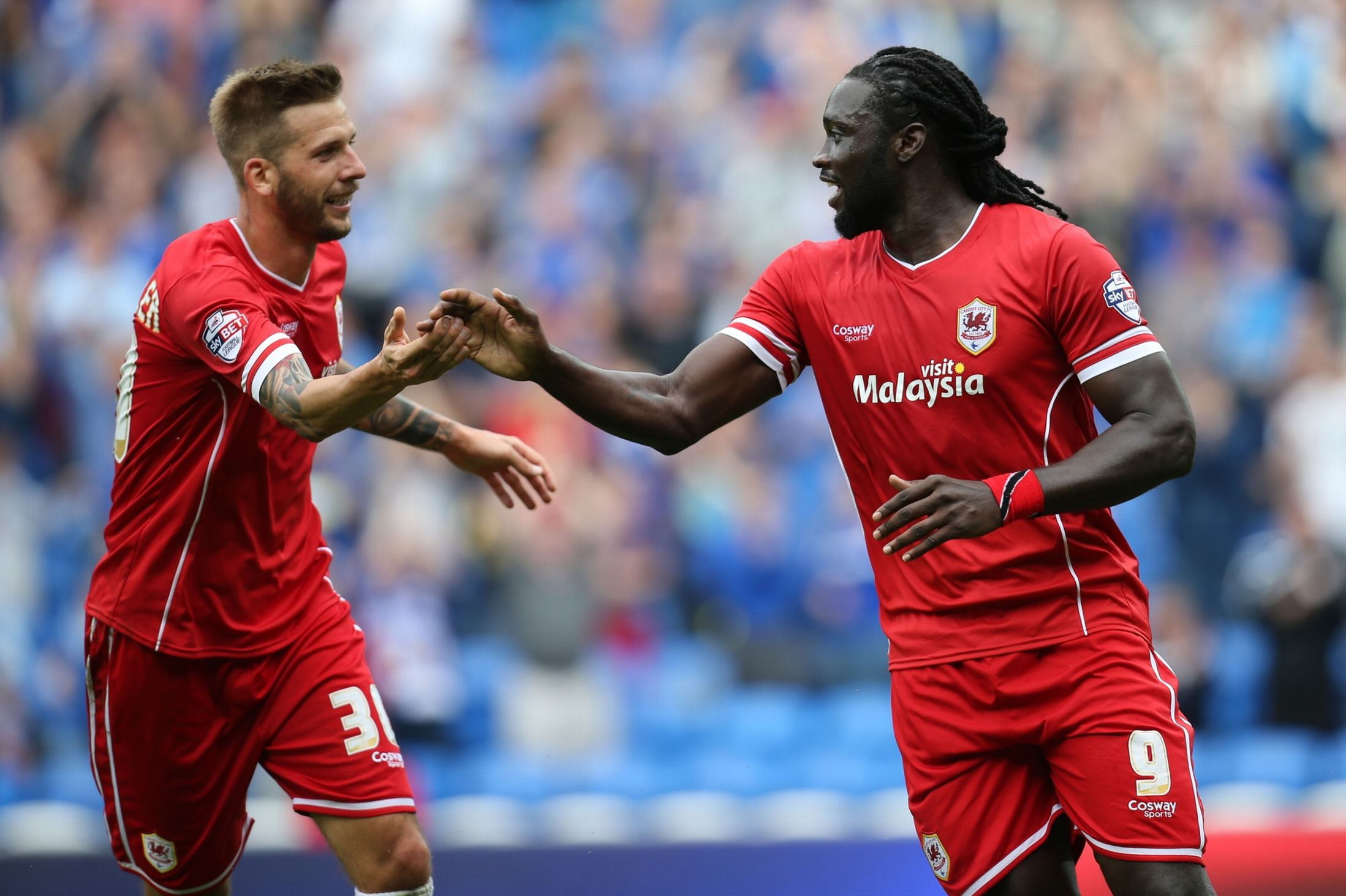 Kenwyne Jones vs Huddersfield Town