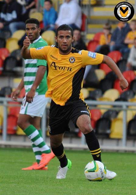 Jake Thomson (Newport County vs Yeovil Town)