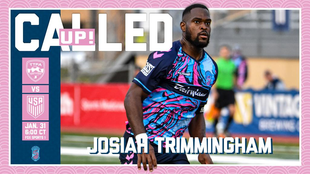 Forward Madison defender Josiah Trimmingham called up for Trinidad and Tobago